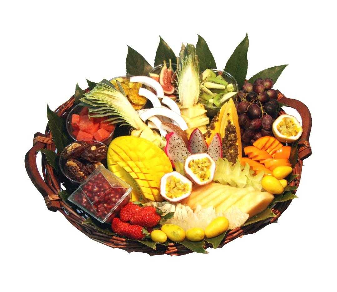 סלסלת פירות מעוצבת, מתנה מקורית וייחודית