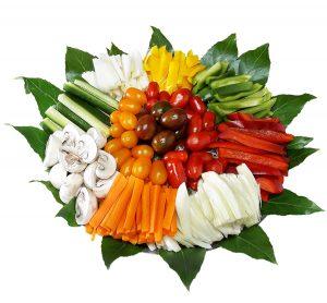 מגש ירקות מעוצב